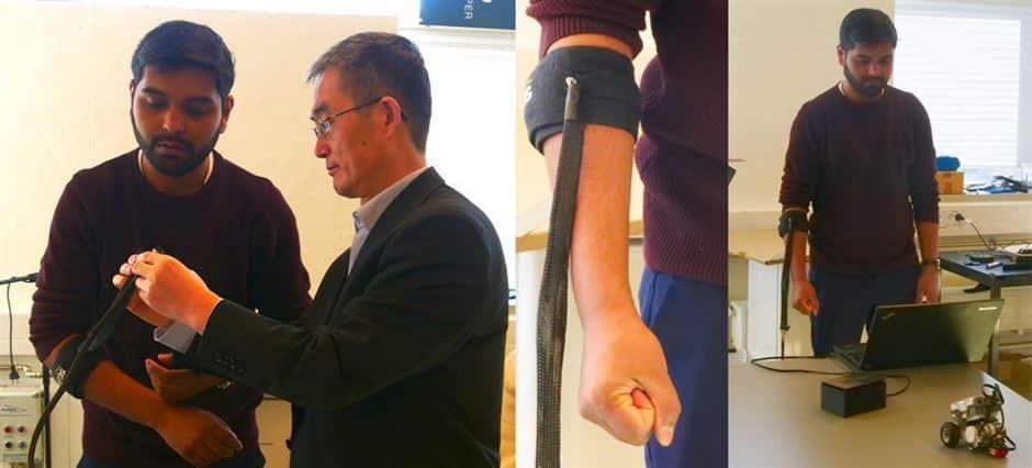 PRM / Nordjysk opfindelse får robotten til at adlyde dit mindste vink